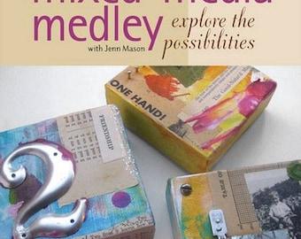 Cloth Paper Scissors Workshop Mixed Media Medley