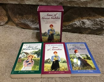 The  Anne Of Green Gables Box Set 1-3 Books L.M. Montgomery