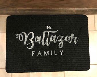 Customized Family Rug