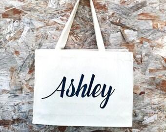 Tote bags - Bridesmaid gift set - Custom canvas tote bag - Bachelorette tote bags - Custom canvas tote - Wedding tote bags