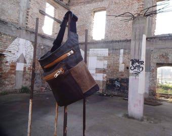 Hip Bag / Waxed Canvas / Fanny Pack / Freehand Style /  Festival Bag / Belt Bag /Travel Pouch / Babywearing Bag / Waist Bag / Bum Bag