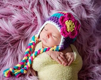 Baby hat, crochet hat for girls, baby hat, baby girl hat, newborn girls hat, crochet girls hat, girls hat, newborn hat, baby girl hat