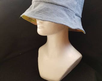 Repurposed Denim Bucket Hat