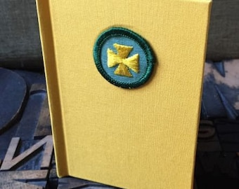 Girl Scout Badge Journal First Aid Badge -  Lined