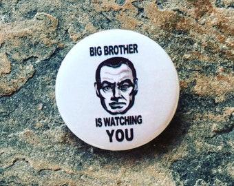Pin Badge, George Orwell, 25mm Pin Badge