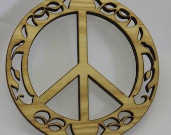 Ornament Peace - Reclaimed Urban Wood . eco Urban Timber