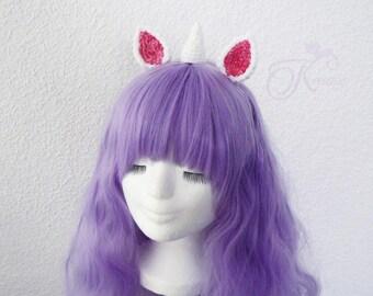 Unicorn headband (white)