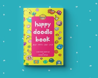 """How to draw simple Doodles - """" HAPPY DOODLE BOOK """""""