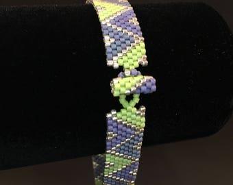 Peyote Beaded Bracelet -