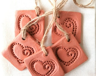 Aromatherapy Diffuser Clay Gift Tags