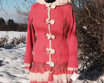 Womens Felt Jacket Handmade
