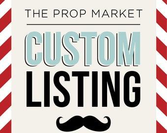Custom Listing: justinedube
