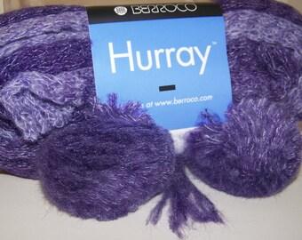 Berroco HURRAY Amethyst Mist Multi Color Mohair Blend Yarn 1 Hank/8609