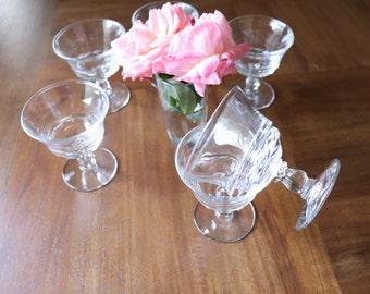 Fostoria Century 1950s champagne/shebert glass