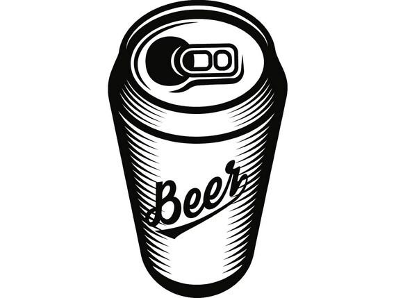 beer can 2 bar pub tavern bartender aluminum six pack drink alcohol rh etsystudio com 6 Pack Beer Clip Art Bucket of Beer Clip Art