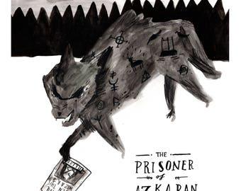 Prisoner of Azkaban Postcard