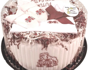Mississippi State Bulldogs Baby Clothing Gift Set