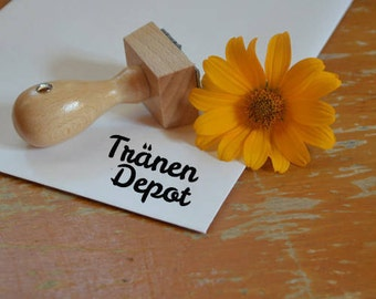 """Stamp """"Tears Depot"""""""