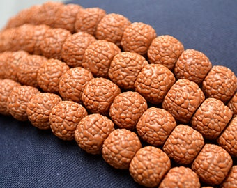 1piece-Natural Small Rudraksha bracelets,108 beads buddha bracelet,pray beads bracelet,Y0579