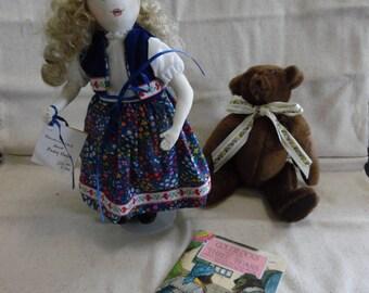 Sandra Campbell Original Handcrafted Goldilocks Doll