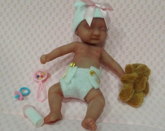 "Silicone Mini 5"" Baby ""Annalyse"" Several Options"""