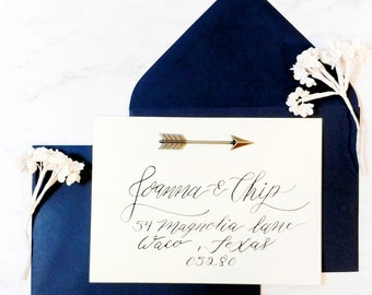 Custom Calligraphy Envelope Addressing