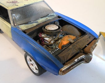 Scale Model Car, Classicwrecks, Rusted Wreck ,PontiacFirebird,BarnFind,Musclecar