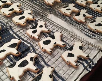 cow sugar cookies