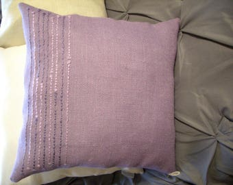 LAVENDER Complete PILLOW - DANIEL by cmk - 17 x 17 - New