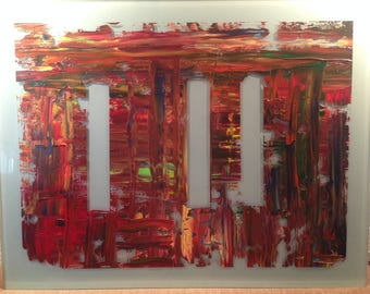 Ceci n'est pas un Gerhard Richter / Hommage, painting abstract, Gemälde abstrakt