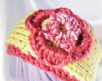 Floral Spring Headband Ear Warmer