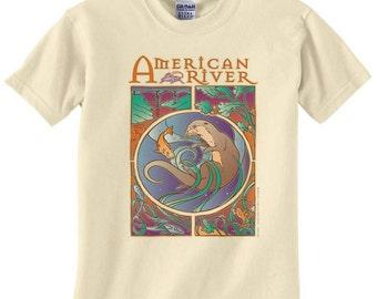 American River Otter Tshirt