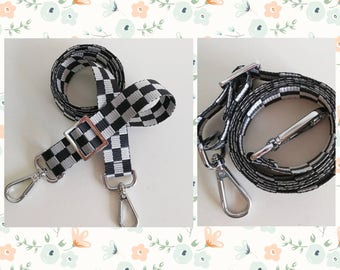 Ju-ju-be 1inch checkered sling strap for sushi cars