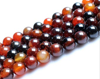 Dream agate round loose gemstone beads strand 16'' 4mm 6mm 8mm 10mm 12mm