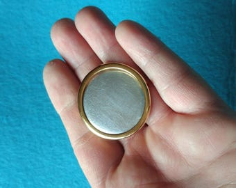 DIY, Brooch, Round Pin Setting Frame Mounting, 335G