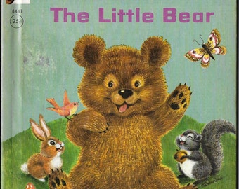 Vintage 1970's Children's Illustrated Book - Pudgy, The Little Bear