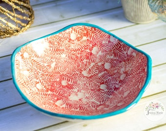Large serving shallow bowl