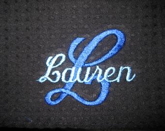 Name & Initial Cosmetic Bag