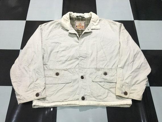lined Size plaid harrington jacket Baracuta M Vintage qwH01aR