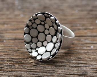 Pebbled Nest Ring