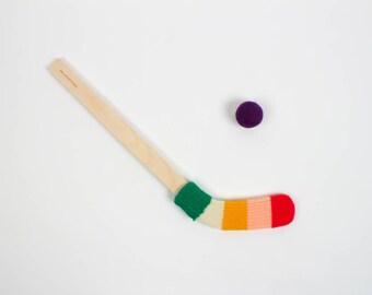 Mini Hockey Stick - multicolor