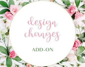 Design changes add-on