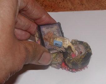 "Dollhouse Miniatures/ Potion Book,""TASTY"""