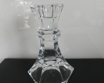 Vintage, crystal chandelier, candle holder, lead crystal chandelier, around 1960, candlestick, Crystal, polished