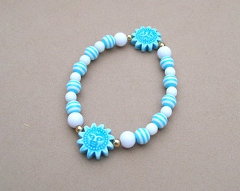 Don't Messi With Argentina - Beaded Stretch Bracelet - World Cup Jewelry