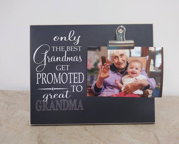 Mother\'s Day Gift Idea For Grandma Picture Frame Gift