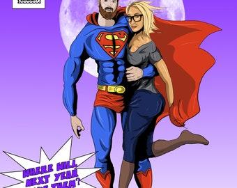 Custom Made Comicbook Poster