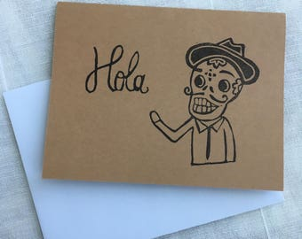 Day of the Dead cards - HOLA