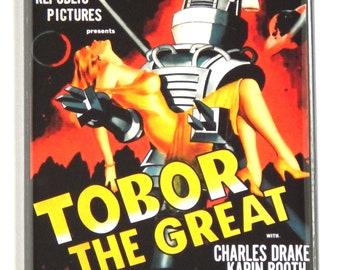 Tobor the Great Movie Poster Fridge Magnet