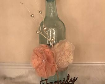 FAMILY bottle decor-Home decor bottle